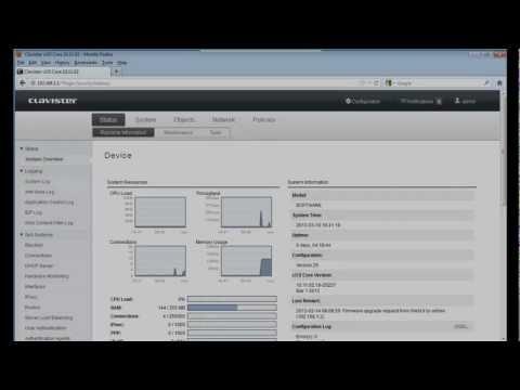 Clavister - IPv6 Setup