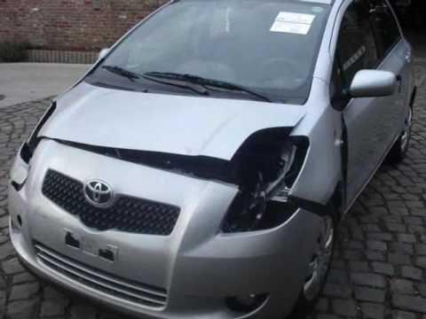 Toyota Yaris Accident Youtube