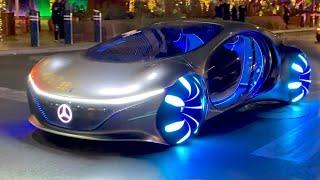 ТЕСТ: Mercedes-АВАТАР на улицах LAS VEGAS'а! ШОК для всех + мультимедиа, которую Вы не видели. AVTR.