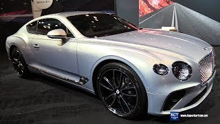 2019 Bentley Continental GT - Exterior and Interior Walkaround - 2019 NY Auto Show