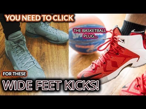 Top 5 Basketball Shoes for Wide Feet (Basketball Shoes for Centers)