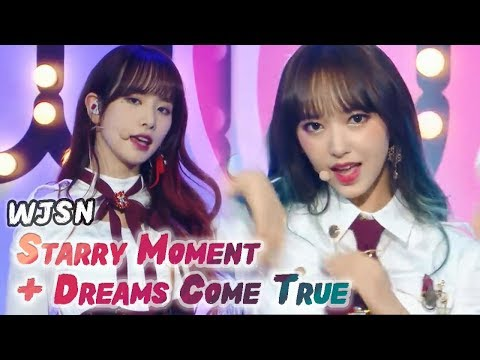 [Comeback Stage] WJSN - Starry Moment+Dreams come True Show Music core 20180303