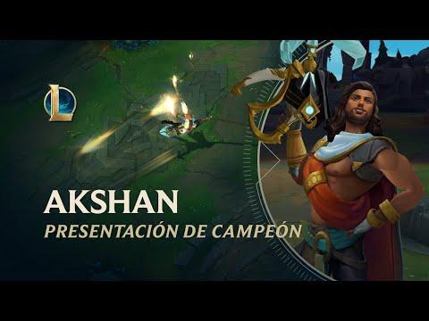 Presentación de Akshan | Jugabilidad - League of Legends