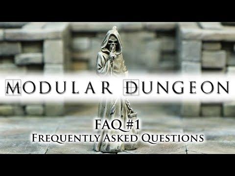 Modular Dungeon: FAQ #1 (Kickstarter project powered by TWS)