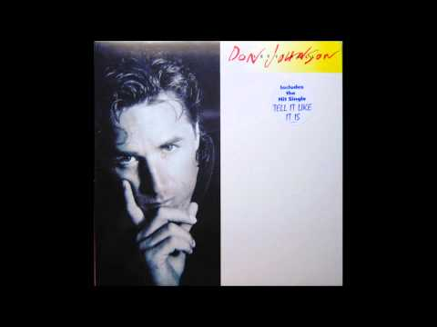 Don Johnson-Tell It Like Is. (aor)