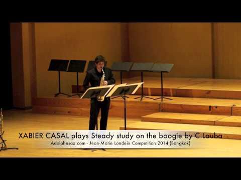 XABIER CASAL plays Steady study on the boogie by C Lauba