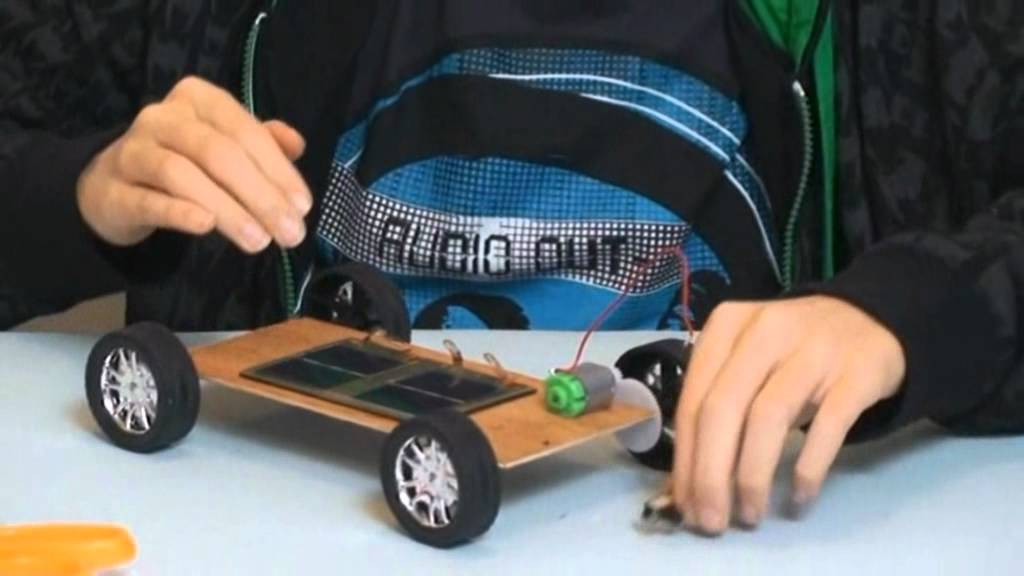 How To Make A Solar Car Youtube
