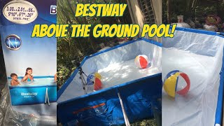 BestWay 56404 above the ground pool   Thatfabieeve