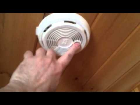 Test your smoke alarm.