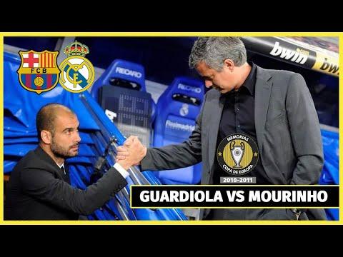 La Polémica Semifinal de CHAMPIONS entre REAL MADRID y BARCELONA (2010/2011) Guardiola vs Mourinho