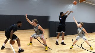 1v1 Basketball Cash vs Jiedel 2Hype!