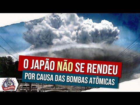 O Japão NÃO se rendeu por causa das bombas atômicas