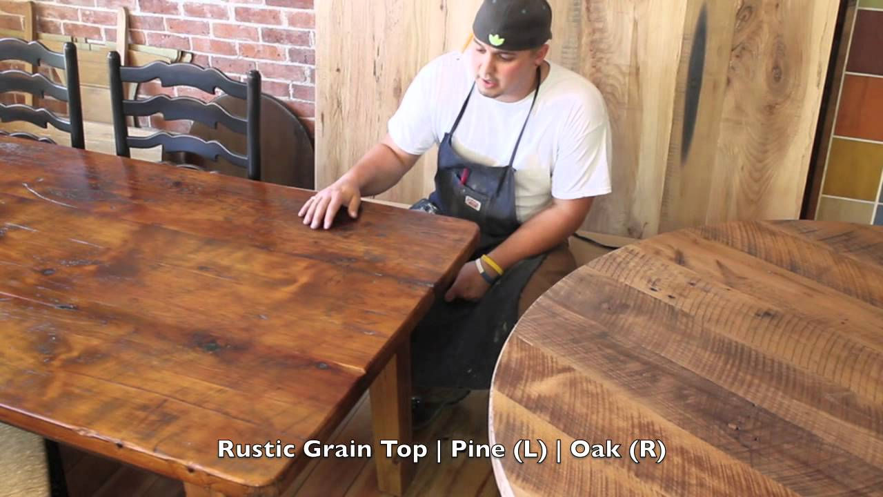 Differences Of Pine And Oak Differences In Wood Grains