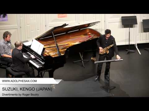 Dinant 2014 - SUZUKI, KENGO - Divertimento by Roger Boutry part 2