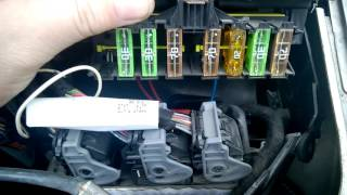 Peugeot 307sw Suursulakkeet / BIG FUSES that are hidden from you