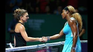 WTA Finals Countdown: Simona Halep vs. Serena Williams, 2014 RR | 8 Days Out