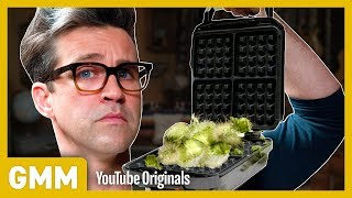 What Happens When You Put A Cactus In A Waffle Iron?