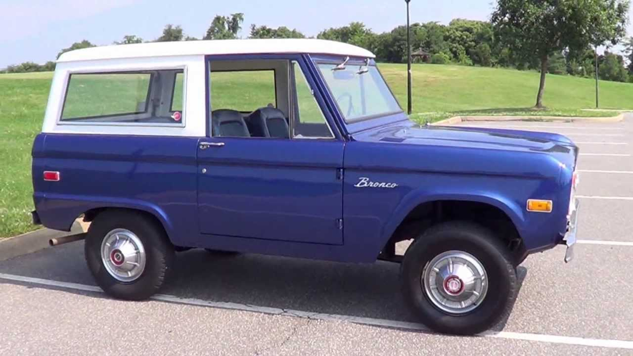 1974 74 Ford Bronco For Sale Rust Free And Uncut Sold