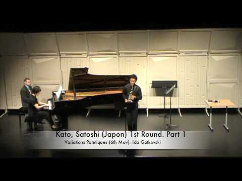 Kato, Satoshi Japon 1st Round Part 1