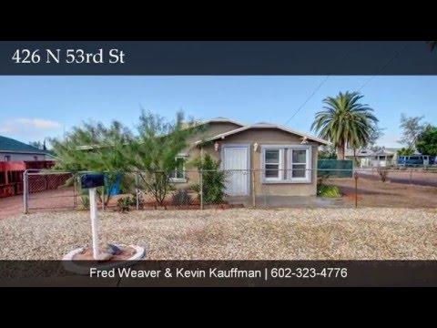 426 N 53rd St, Phoenix, AZ 85008 Presented by Group 46:10 - Keller Williams Realty Phoenix