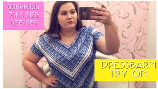 INSIDE THE DRESSING ROOM AT DRESSBARN || PLUS SIZE Try-On Haul