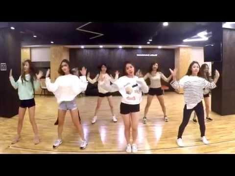 LOVELYZ - Ah-Choo - mirrored dance practice video - 러블리즈 아츄