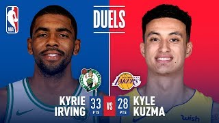 Duel In LA: Kyrie Irving vs Kyle Kuzma