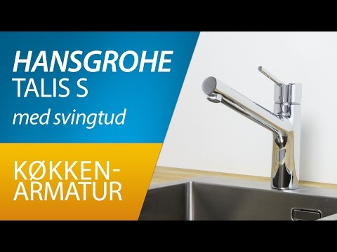 PRODUKT |Hansgrohe Talis S køkkenarmatur