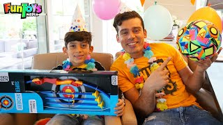 Funny birthday party with Jason