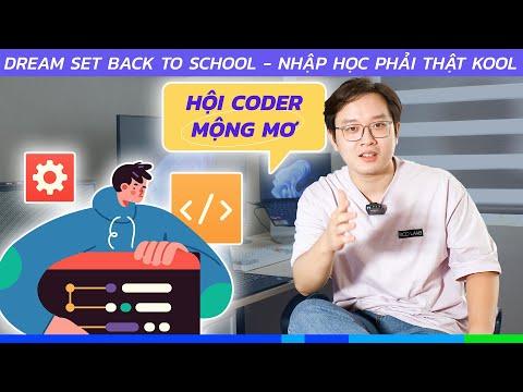 Set đồ công nghệ chuẩn CODER cho ae HSSV | Back to School 2021