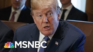 President Donald Trump's Tweets Possibly Signaled Obstruction Of Justice | Velshi & Ruhle | MSNBC