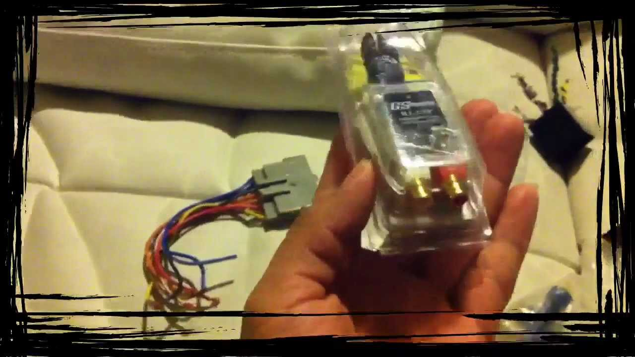 nissan altima wiring diagram radio how to hook up amp into stock stereo youtube #6