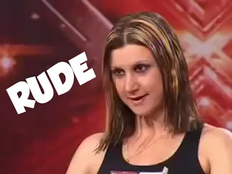 X Factor Rude Contestants PART 1