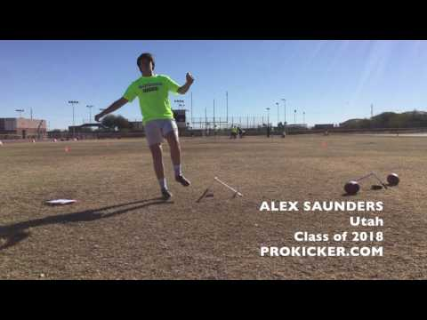 Alex Saunders, Prokicker.com Kicker, Utah, Class of 2018