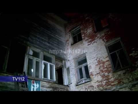 TV112 Пожар в Соловецком подворье в Архангельске