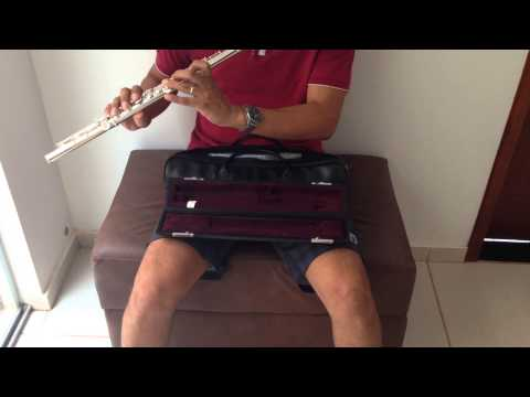 Flauta Transversal Yamaha YFL-584 à Venda. 001