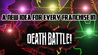 New DEATH BATTLE episode ideas for every Franchise that has been on DEATH BATTLE!