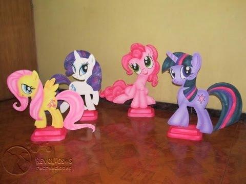Recuerdos de fomix para fiestas infantiles de ponis - Imagui