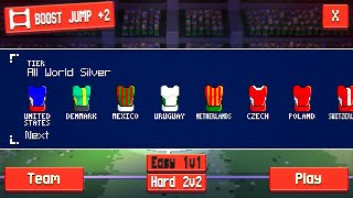 #8 All World SILVER Tier - Super Jump Soccer Full Gameplay by Stinger Games aNdroid / IOS Gameplay