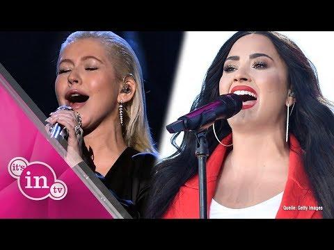 Xtina und Demi Lovato: Wichtige Message mit