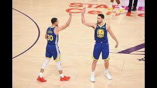 Klay Thompson Hits 10 Straight 3-Pointers vs. Los Angeles Lakers