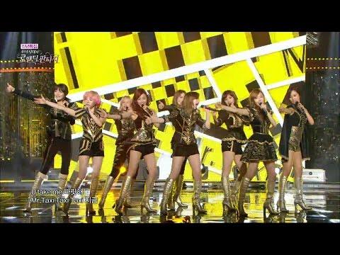 【TVPP】SNSD - Mr.taxi, 소녀시대 - 미스터 택시 @ Romantic Fantasy