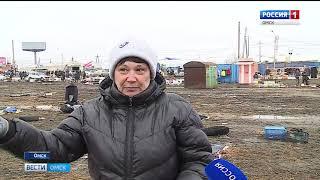 Омск утопает в грязи