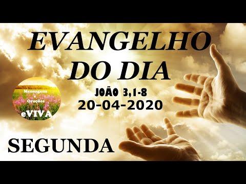 EVANGELHO DO DIA 20/04/2020 Narrado e Comentado - LITURGIA DIÁRIA - HOMILIA DIARIA HOJE