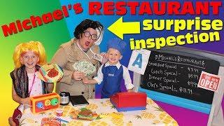 Michael's Restaurant: Surprise Inspection - Family Fun Pack Skit - YouTube