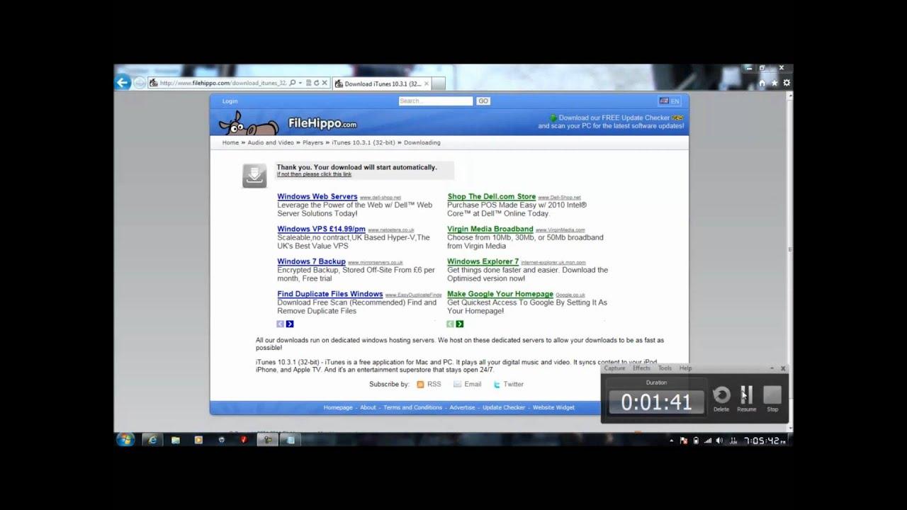 Itunes download for windows 7 32 bit