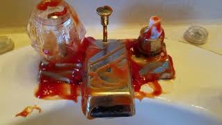 How to Clean Sink [with Ketchup] by maryamshahzad