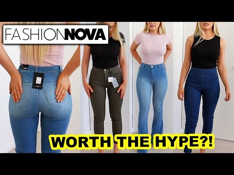 "FASHION NOVA JEANS: Worth The Hype""!"