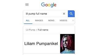 Googling Rappers Full Names