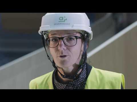 Följ med på bygget av Segerstedthuset i Uppsala - film 2/3